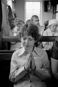 © Martin Parr/Magnum Photos GB. England. West Yorkshire. Calderdale. Hebden Bridge. Crimsworth Dean Chapel Anniversary service. 1975-1980.
