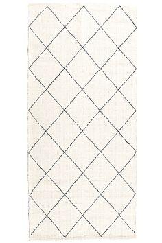 Ellos Home Tæppe Salem 70x150 cm Offwhite - Uldtæpper | Ellos Mobile