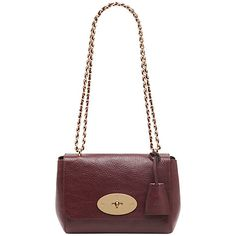 66c4631884 Mulberry Lily Small Classic Grain Leather Shoulder Bag at John Lewis    Partners