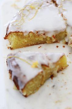 Gluten Free Fast Food, Gluten Free Lemon Cake, Gluten Free Sweets, Gluten Free Cakes, Dairy Free Recipes, Desserts Around The World, Just Desserts, Lemon Recipes, Cake Recipes