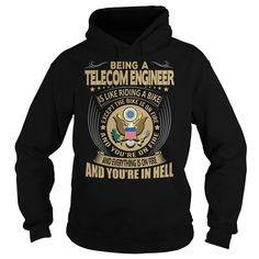 Telecom Engineer Job Title T-Shirts, Hoodies. BUY IT NOW ==► Funny Tee Shirts