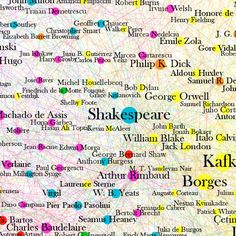 Woah! #Infographic: A Map Of Every Big Idea Ever Printed #awesome !!!