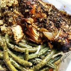 Ripped Recipes - Slow Cooker Balsamic Chicken - Chicken so tender that it falls right apart. Balsamic gives it a flavour burst that is sure to satisfy! add green beans and grains Slow Cooker Balsamic Chicken, Crock Pot Slow Cooker, Slow Cooker Recipes, Crockpot Recipes, Chicken Recipes, Cooking Recipes, Healthy Recipes, Fast Recipes, Recipe Chicken