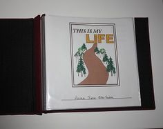 This memory book contains 20 post-bound 8x8 pages for capturing the life memories of your loved one. Scrapbook pages include simple text prompts to portray the person's life story (e.g. hobbies, jobs, hometown, family, etc.) but leaves plenty of space for pictures, stickers, etc. Useful to help people reminisce about their life history and help others who do not know them get to know their story.