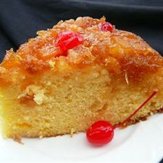 This is great. And so easy to make! Pineapple cake - click for recipe