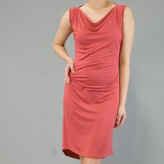 @Overstock - Draped styling and a cowl neck top this sleeveles tunic dress from AtoZ. This lightweight dress has lines that flatter and a modal blend construction.http://www.overstock.com/Clothing-Shoes/AtoZ-Womens-Drape-Tunic-Dress/5733967/product.html?CID=214117 $18.99