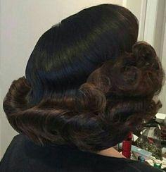 Church Hairstyles, Retro Hairstyles, Halo Hair, Curl Curl, Fantasy Hair, Hair Flip, Hair Brained, Big Hair, Curls