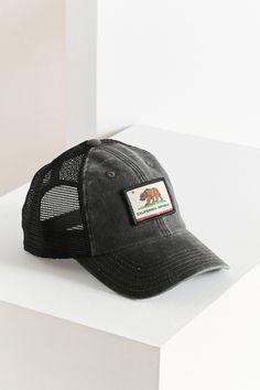 Slide View: 2: American Needle Patch Trucker Hat