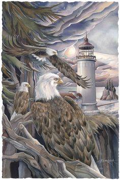 """In the Company of Eagles"" par Jody Bergsma"