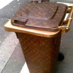 If only you actually had a garbage bin and not a concierge that takes care of that for you...