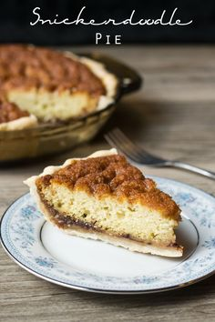 Snickerdoodle Pie on MyRecipeMagic.com. Your favorite Snickerdoodle cookie in a pie form! It's cinnamon and sugar heaven. :)