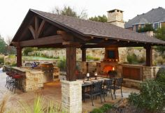 This outdoor cooking and dining spots was one of our favorite projects.  The stone patio is right off an in-ground pool, so there's a spot to serve guests at their next pool party.  We design and install #OutdoorKitchens in Minneapolis MN.  http://www.aldmn.com