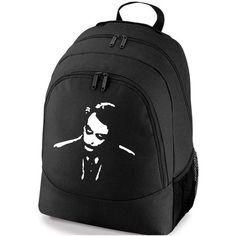 JOKER BATMAN DC COMICS BACKPACK SCHOOL GYM BAG ($31) ❤ liked on Polyvore featuring bags, backpacks, backpack gym bag, backpacks bags, gym bag, rucksack bag and knapsack bags