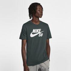d6372b0f Nike SB Logo Men's T-Shirt - Green Sb Logo, ...