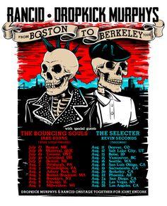 Dropkick Murphys and Rancid announce co-headlining tour - News - Alternative Press