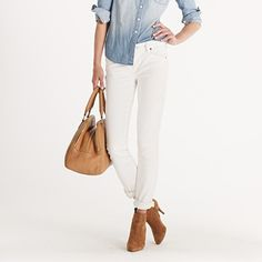 White denim.  The answer is always yes, yes, a resounding YES!