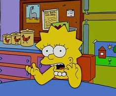 Superthumb Simpsons Meme, The Simpsons, Cartoon Quotes, Cartoon Icons, Cute Memes, Funny Memes, Bart And Lisa Simpson, Pretty Hurts, Animated Icons