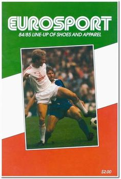 The very first Eurosport Catalog from 1984.