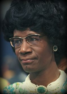Today In History    'Shirley Chisholm, the first Black woman elected to Congress, was born in Brooklyn, NY, on this date November 30, 1924.'    (photo: Shirley Chisholm)    - CARTER Magazine