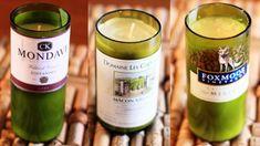 Wine Bottle Crafts for DIY Decor: Candles | Bottle Crafts, Wine Bottle ...