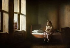"""""""Hopper Meditations"""": Photos of Intimate Bedroom Scenes Inspired by the Great American Painter by Richard Tuschman"""