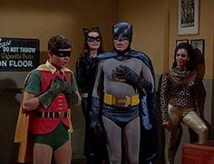 "Burt Ward, Julie Newmar and Adam West in Batman (1966) - ""The Cat's Meow"""