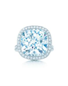 Tiffany blue engagement ring from Tiffany & Co.!