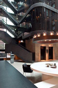 Piero Lissoni - Conservatorium Hotel, Amsterdam