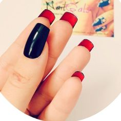 Stiletto black over red nail set Comes with 12 nails, let me know your Sizes upon purchasing. ♡ At the moment no trading, need the money:( ♡ Price is firm ♡ Don't waste my time, I'm a very busy person ♡ All my items are in a smoke free home ♡ BUNDLE and SAVE! ♡ If you spend $30 or more you will receive a free gift! God is your savior and also your redeemer John 3:16 Louis Vuitton Accessories