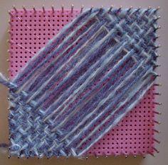 Hazel's Adjust O' Peg Loom review Pin Weaving, Weaving Tools, Weaving Projects, Loom Weaving, Basket Weaving, Art Projects, Loom Yarn, Peg Loom, Knitting Blogs