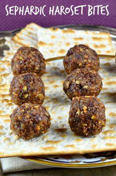 Sephardic Haroset Bites