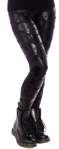 IRON FIST SKULLZ CLUB LEGGINGS