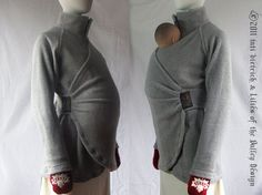 Not that I'm planning anytime soon, but this is the coolest baby holder/jacket/thing i've ever seen  Maternity Coat Maternity Jacket Winter by PlusSizeClothing on Etsy, | http://best-cute-baby-animals-gallery.blogspot.com