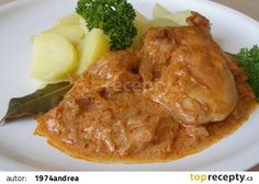 Czech Recipes, Ethnic Recipes, Mashed Potatoes, Chicken, Meat, Cooking, Whipped Potatoes, Smash Potatoes, Shredded Potatoes