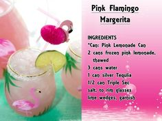 24 Pink Valentine Cocktails - Just Pink About It Irrisistable PINK cocktails! Liquor Drinks, Fun Drinks, Yummy Drinks, Alcoholic Drinks, Beverages, Rum Punch Recipes, Drinks Alcohol Recipes, Cocktail Recipes, Drink Recipes
