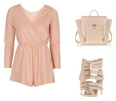 """""""Untitled #11925"""" by danisalalkamis ❤ liked on Polyvore featuring Topshop, Giuseppe Zanotti and 3.1 Phillip Lim"""