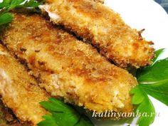 рецепт филе курицы в духовке в сухарях