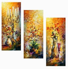 Oriental Dreams Set Of 3 by Leonid Afremov Handmade oil painting reproduction on canvas for sale,We can offer Framed art,Wall Art,Gallery Wrap and Stretched Canvas,Choose from multiple sizes and frames at discount price. Pour Painting, Oil Painting On Canvas, Still Life Oil Painting, Oil Painting Reproductions, Colorful Paintings, Framed Art, Wall Art, Art Drawings, Original Paintings
