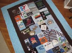 Image result for blankets made from babygrows