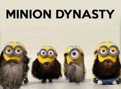 Despicable me Minions.. You gotta love em (20 Pics) Duck Dynasty @Abby Christine Christine Christine Sowatsky