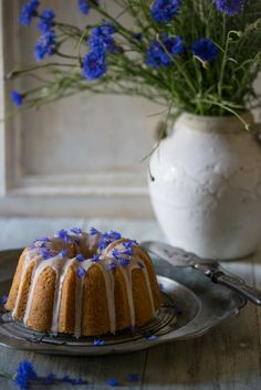 Earl Grey and Lemon Cake