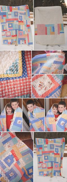 LOVE THESE COLORS FOR A CHILD'S QUILT! My children at play quilt is done!