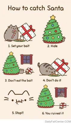 I love the pusheen cat!