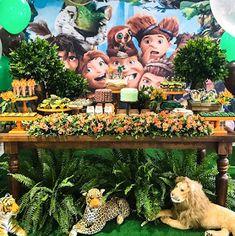 Aniversário de irmãos com tema Croods - Guia Tudo Festa - Blog de Festas - dicas e ideias!