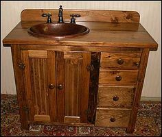 Bathroom Designer on Country Bathroom Vanity Design Gallery Pictures Photos Of Home House Country Bathroom Vanities, Wooden Bathroom Vanity, Bathroom Vanity Designs, Bathroom Vanity Makeover, Bathroom Ideas, Basement Bathroom, Pallet Vanity, Bathroom Bin, Bathroom Pictures
