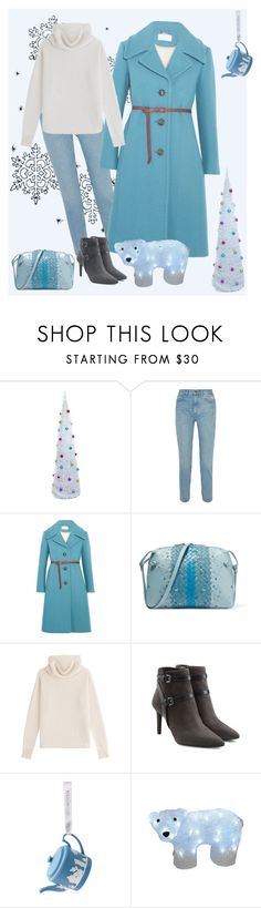 """Light blue Sunday"" by gagenna ❤ liked on Polyvore featuring M.i.h Jeans, Chloé, Bottega Veneta, Sonia Rykiel, MICHAEL Michael Kors, Wedgwood and Northlight Homestore"