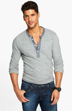 Cool take on the henley by @TODD SNYDER