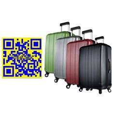 Luggage Suitcase Hardside Luggage 20 24 Inches 3 Colors ABS  PC ...