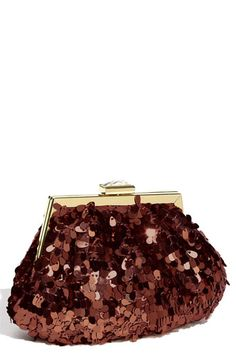 Jessica McClintock Sequin Pouch Clutch available at #Nordstrom