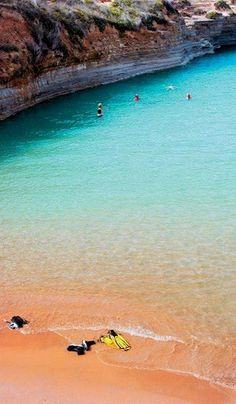 Canal d 'amour at Sidari ~ Corfu Island (Ionian), Greece